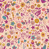 Cute floral pattern Royalty Free Stock Photo
