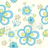 Cute floral seamless Stock Image
