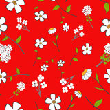 Cute Floral Seamless Royalty Free Stock Photography