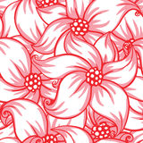 Cute floral seamless pattern Stock Images