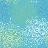 Cute floral seamless pattern Stock Photo