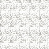Cute floral seamless pattern for a good mood Stock Images