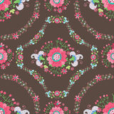 Cute Floral Seamless pattern Stock Photography