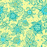 Cute floral seamless pattern.. Vector illustration Stock Image