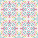 Cute floral texture seamless vector pattern Stock Image