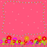 Cute of flower  background Royalty Free Stock Image