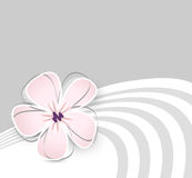 Cute flower background stock illustration
