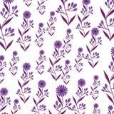 Cute flower garden decorative pattern. Vector illustration design Royalty Free Stock Image