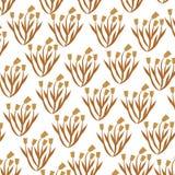 Cute flower garden decorative pattern. Vector illustration design Stock Images