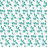 Cute flower garden decorative pattern. Vector illustration design Royalty Free Stock Photos