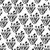 Cute flower garden decorative pattern. Vector illustration design Royalty Free Stock Photo