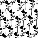 Cute flower garden decorative pattern. Vector illustration design Stock Photo