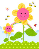 Cute flower Stock Image