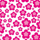 Cute flower pattern background Royalty Free Stock Photography