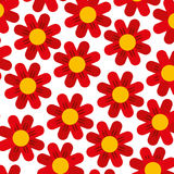 Cute flower pattern background Royalty Free Stock Images