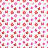 Cute flower pattern Stock Photos