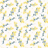 Cute flower seamless pattern Бесплатная Иллюстрация