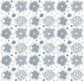 Cute flowers seamless pattern Royalty Free Stock Images