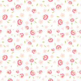 Cute flowers seamless pattern. Seamless floral pattern with small flowers Stock Photo