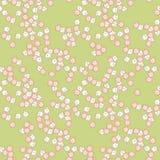 Cute flowers seamless pattern. Little cute flowers seamless pattern Stock Photography