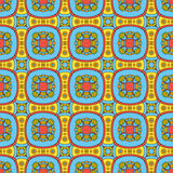 Cute flowers seamless pattern Stock Photography