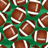 Cute football seamless pattern Royalty Free Stock Photo
