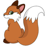 Cute fox Royalty Free Stock Images