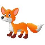 Cute fox cartoon Stock Photos