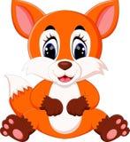 Cute fox cartoon. Illustration of Cute fox cartoon Stock Photo