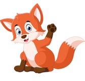 Cute fox cartoon. Illustration of Cute fox cartoon Royalty Free Stock Images