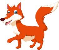 Cute fox cartoon Royalty Free Stock Image