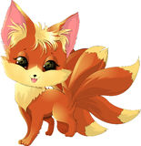 Cute fox pokemon Stock Photo