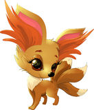 Cute fox pokemon Royalty Free Stock Images