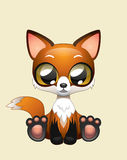 Cute Fox Vector Illustration Art Royalty Free Stock Photography