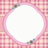 Cute Frame Background. Frame/border with cute design Royalty Free Stock Images