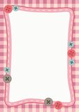 Cute Frame Background. Frame/border with cute design Royalty Free Illustration