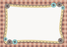 Cute Frame Background Royalty Free Stock Photo