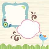 Cute Frame Design Stock Image