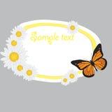 Cute frame design.  illustration Stock Image