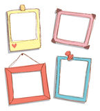 Cute frame doodle Stock Photography
