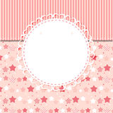 Cute Frame Vector Illustration Stock Images