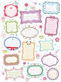 Cute frames. Design for your title, text or message