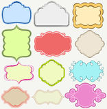 Cute frames set Royalty Free Stock Photography