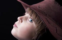 Cute freckle faced boy Royalty Free Stock Images