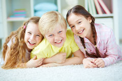 Cute friends Royalty Free Stock Photo