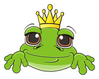 Cute frog girl Stock Photo