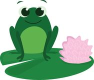 Cute Frog Royalty Free Stock Image