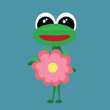 Cute frog. Stock Photo