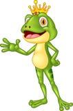 Cute frog presenting Stock Image