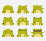 Cute frogs Royalty Free Stock Photo